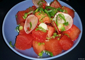 Watermelon Salad at Little Sister